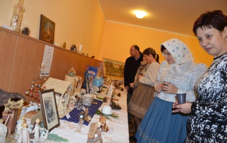 Vystavují i nejmenší český betlém
